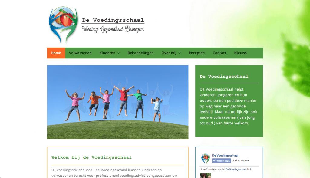 Homepage De Voedingsschaal