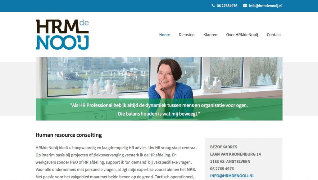 Homepage HRMdeNooij