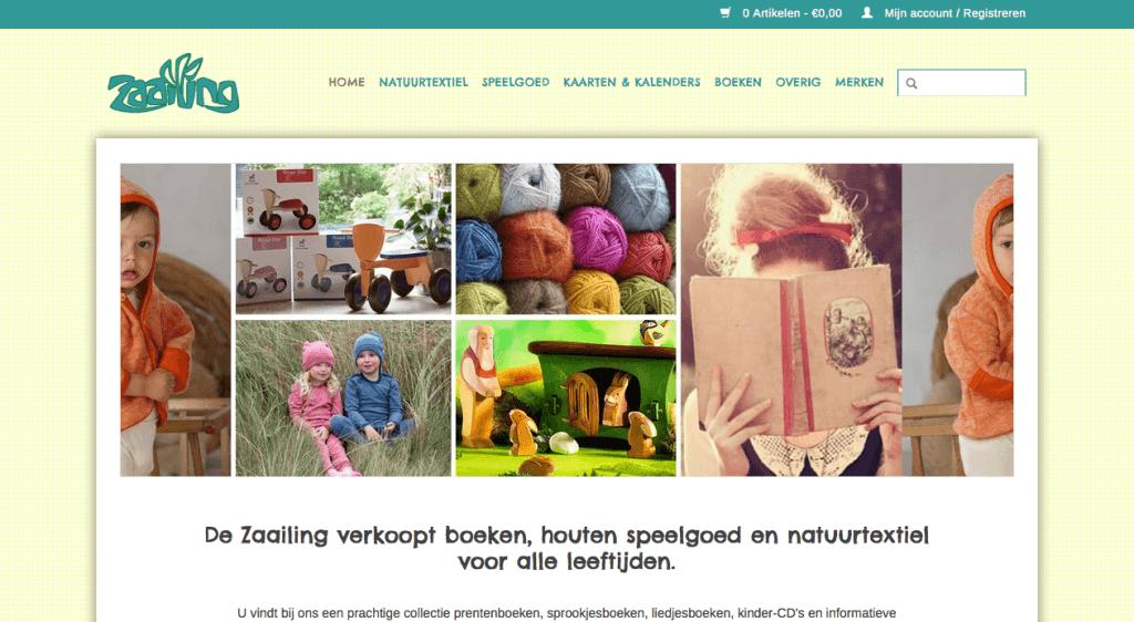 Homepage De Zaailing