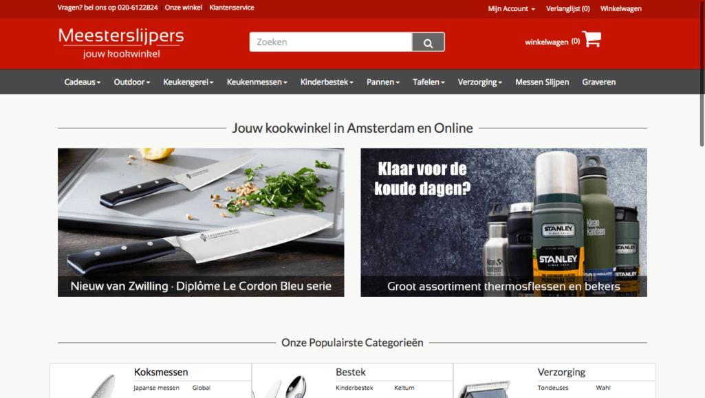 Homepage Meesterslijpers
