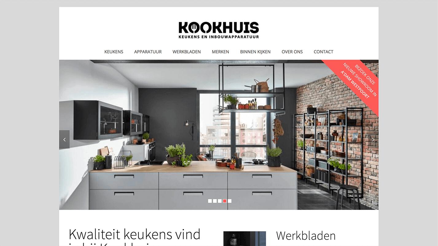 Homepage Kookhuis