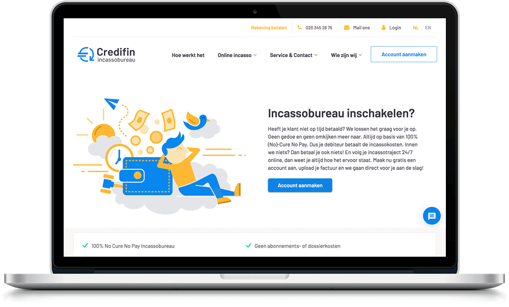Webdesign Credifin