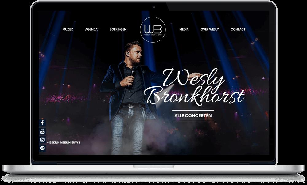 Webdesign Wesly Bronkhorst